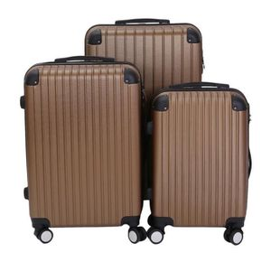 lot de 3 valise achat vente pas cher. Black Bedroom Furniture Sets. Home Design Ideas