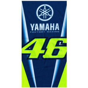 DÉCORATION VÉHICULE Cache-col Valentino Rossi Yamaha VR46 Racing Bleu 20354a18470