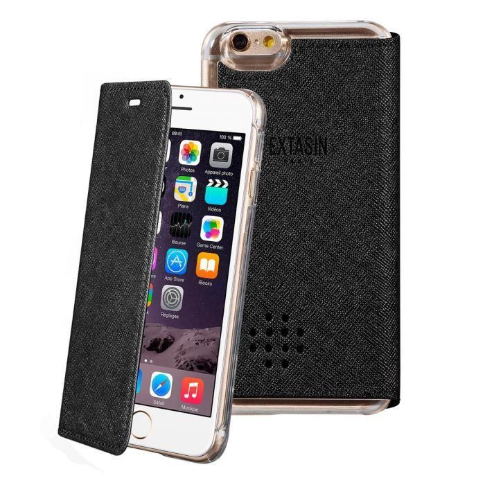 EXTASIN Etui folio pour iPhone 6 / 6S parfumable - Silver