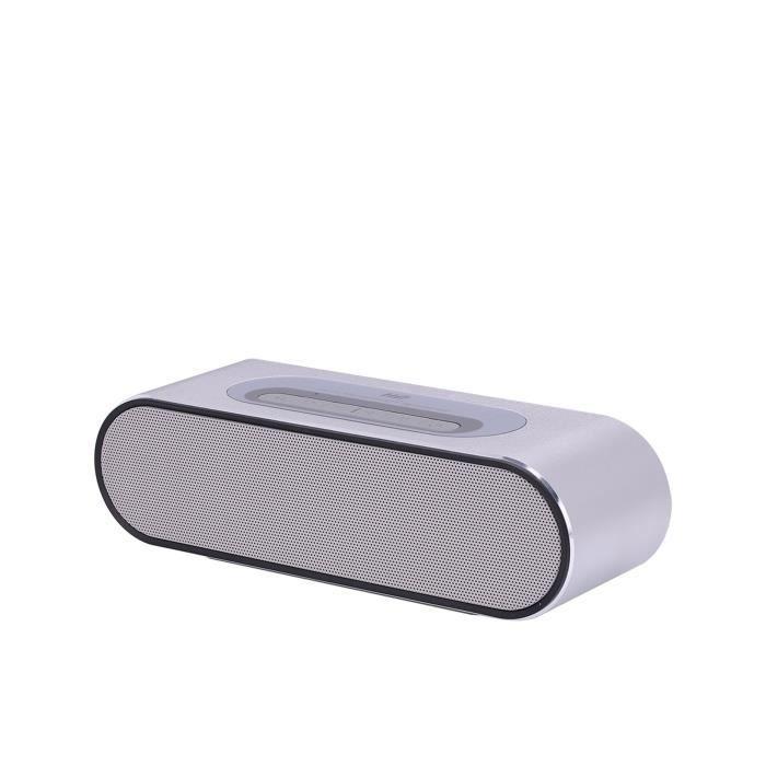 Cette Enceinte portative Bluetooth de grande qualité, permet d'écouter de la music et recevoir des appelsENCEINTE NOMADE - HAUT-PARLEUR NOMADE - ENCEINTE PORTABLE - ENCEINTE MOBILE - ENCEINTE BLUETOOTH - HAUT-PARLEUR BLUETOOTH