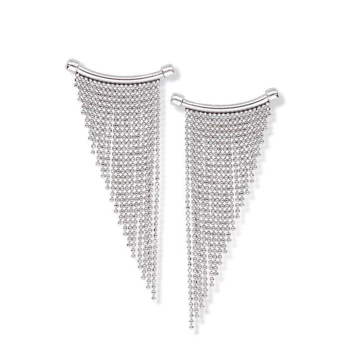 SF Bijoux - Boucles doreilles chainettes (7,10 g) - (101714)