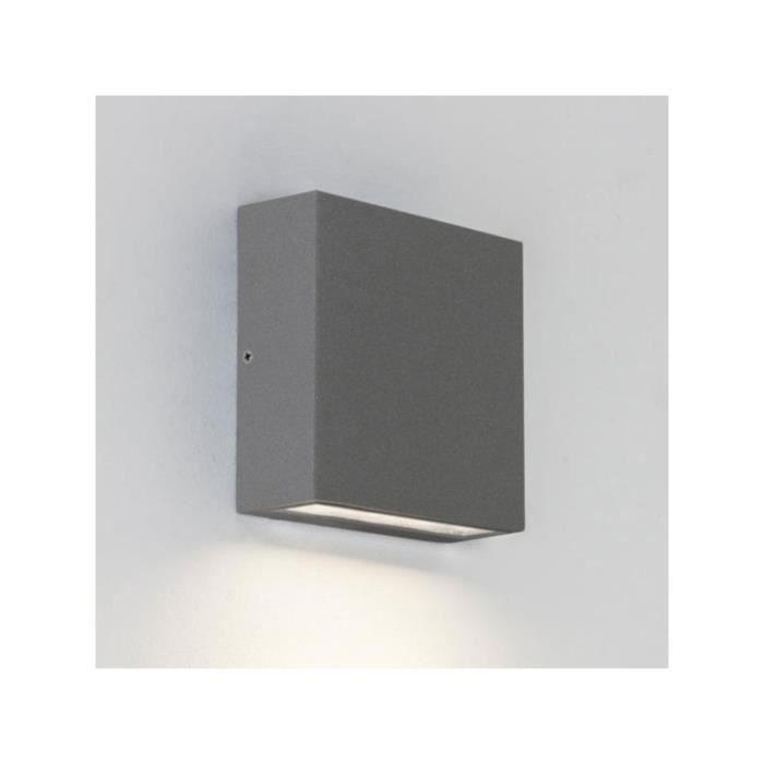 Single Argent Extérieure Elis Ip54 Lighting Astro Applique Led OP8nwk0X