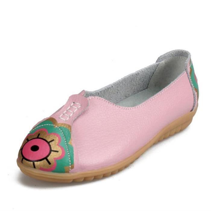 femme Loafer 2017 De Marque De Luxe Loafer Meilleure Qualité Nouvelle arrivee Confortable Loafer 35-41