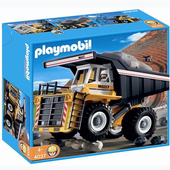 Playmobil tombereau g ant 4037 achat vente univers - Playmobil travaux ...