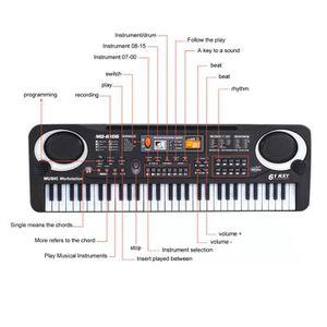 synthetiseur touche piano pas cher achat vente cdiscount. Black Bedroom Furniture Sets. Home Design Ideas