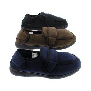 goldtoe large sangle réglable orthopédique wrap pantoufle bootie mémoire mousse maison chaussures MSZ8S Taille-43 fw2uy