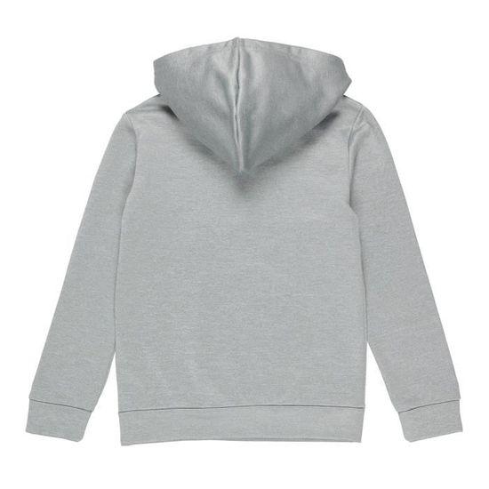 e5bfc708f4 ADIDAS Sweatshirt à capuche Sin - Enfant garçon - Gris Gris, blanc et bleu  nuit - Achat / Vente sweatshirt - Cdiscount