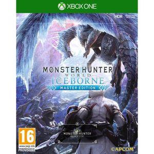 JEU XBOX ONE Monster Hunter World : Iceborne Master Edition Xbo