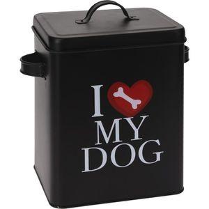 Boîte aliment pour chien 18x15x23 cm 490 g