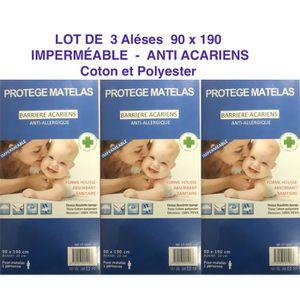 PROTÈGE MATELAS  3 ALESES Protège matelas housse imperméable anti a