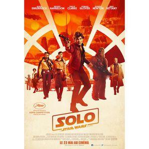 AFFICHE - POSTER Solo, a Star Wars Story - affiche de cinéma - 40x5