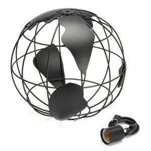 AMPOULE - LED Lampe Globe Terrestre Plafonnier Suspension Eclair