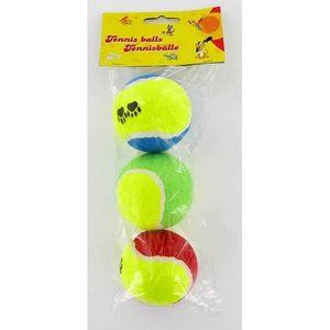 BALLE - FRISBEE Balles de tennis chien - 3 Pièces