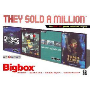 VOLANT JEUX VIDÉO BIGBOX COFFRET 4 JEUX PC CD ROM