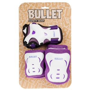 KIT PROTECTION Bullet - Pack de 3 protections - enfant - violet/b