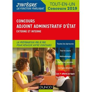 b87e3bfe997 LIVRE MÉDECINE Livre - concours adjoint administratif d Etat   co