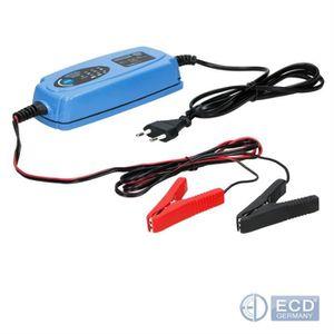 CHARGEUR DE BATTERIE ECD Germany Chargeur de batterie 12V 120Ah  Charge