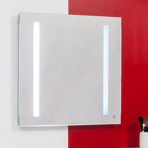 miroir lumineux tactile achat vente pas cher. Black Bedroom Furniture Sets. Home Design Ideas