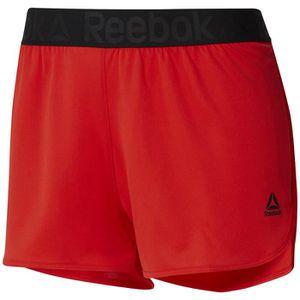 Reebok Workout Prêt Pour Femme Training Shorts-Noir