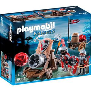 UNIVERS MINIATURE PLAYMOBIL 6038 - Knights - Chevaliers avec Canon G