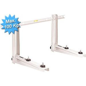 CLIMATISEUR FIXE Support mural complet pour groupe ext. max 100Kg