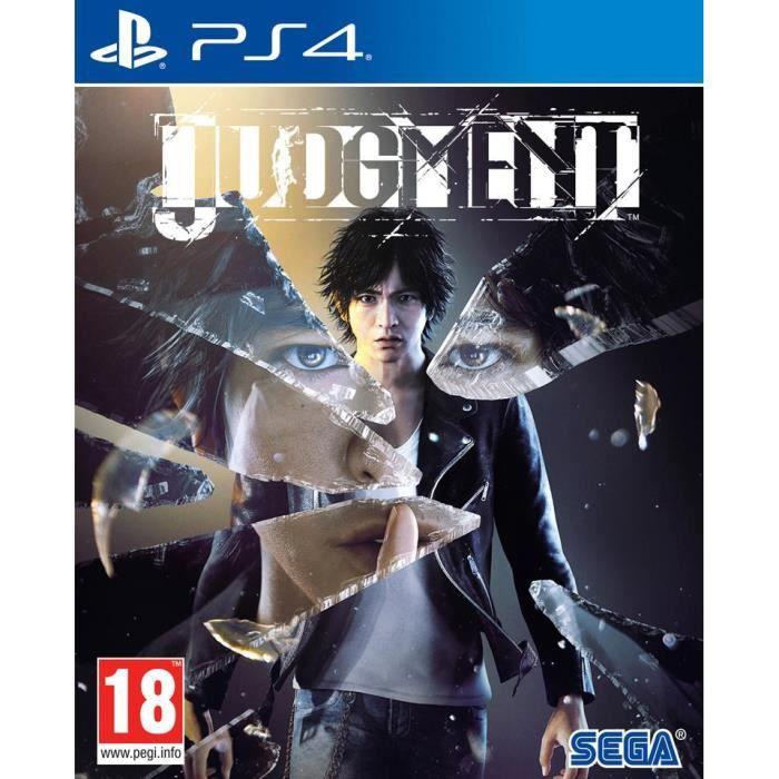 JEU PS4 NOUVEAUTÉ Judgment Jeu PS4