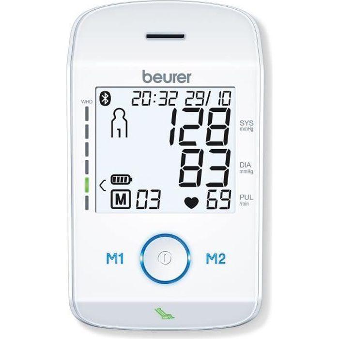 Tensiomètre de bras BEURER BM 85 - 2 x 60 valeurs mémorisables - Tour de bras de 22-36 cm