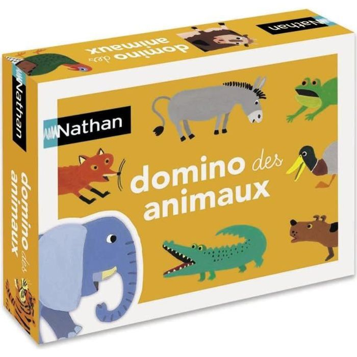 NATHAN - Domino Des Animaux