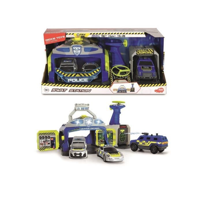 DICKIE-TOYS-Centre-Forces-Speciales