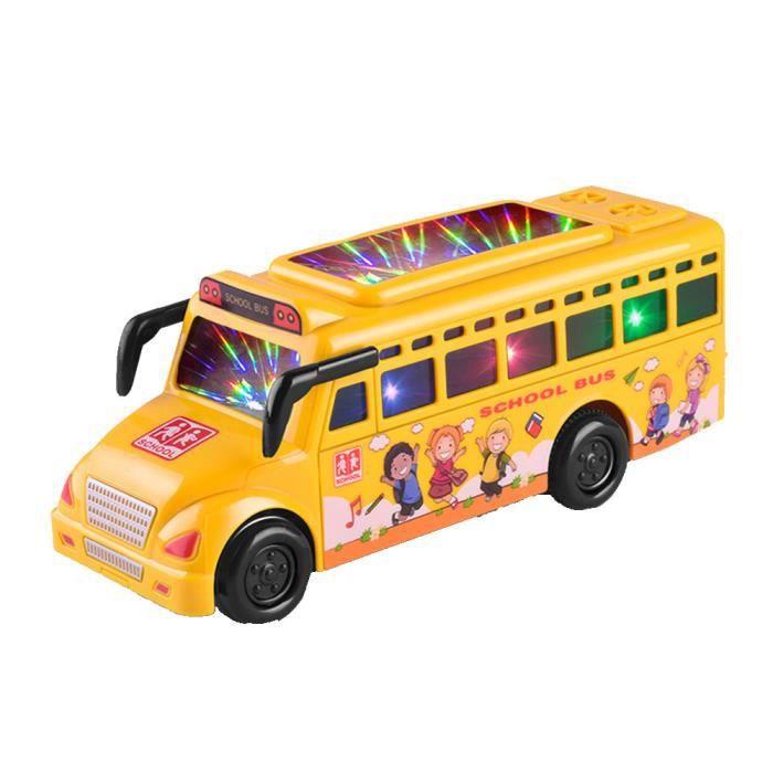 Car Light Bus Voiture Enfant Musique Léthargie Voiture Bébé Jouet
