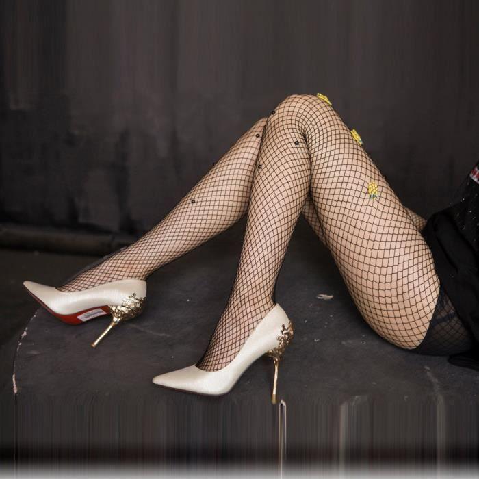 Femmes Ananas Net Résille Corps Bas Motifs Collants Collants Collants -XYM70628901 1234 329881d8a52