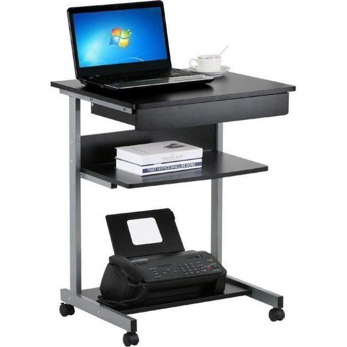 Incroyable Bureau Avec Rangement Imprimante