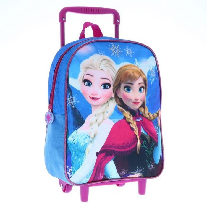 CARTABLE Sac à roulettes Frozen La reine des neiges Sisters