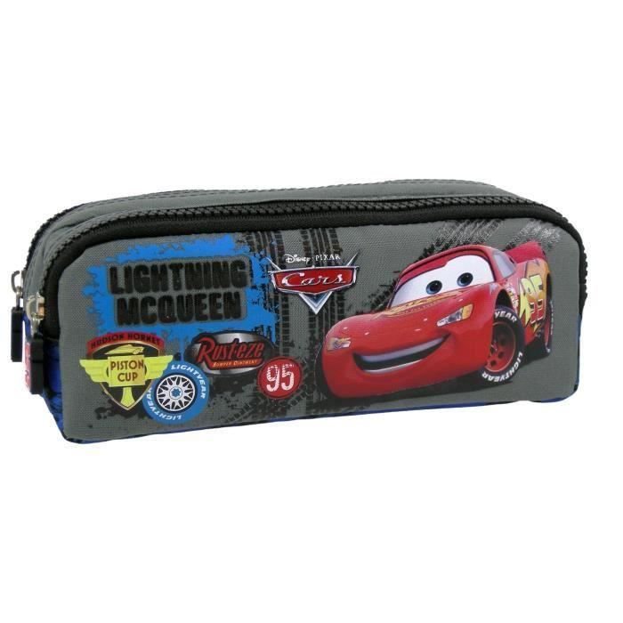 Trousse scolaire Cars McQueen Rouge Cso9w