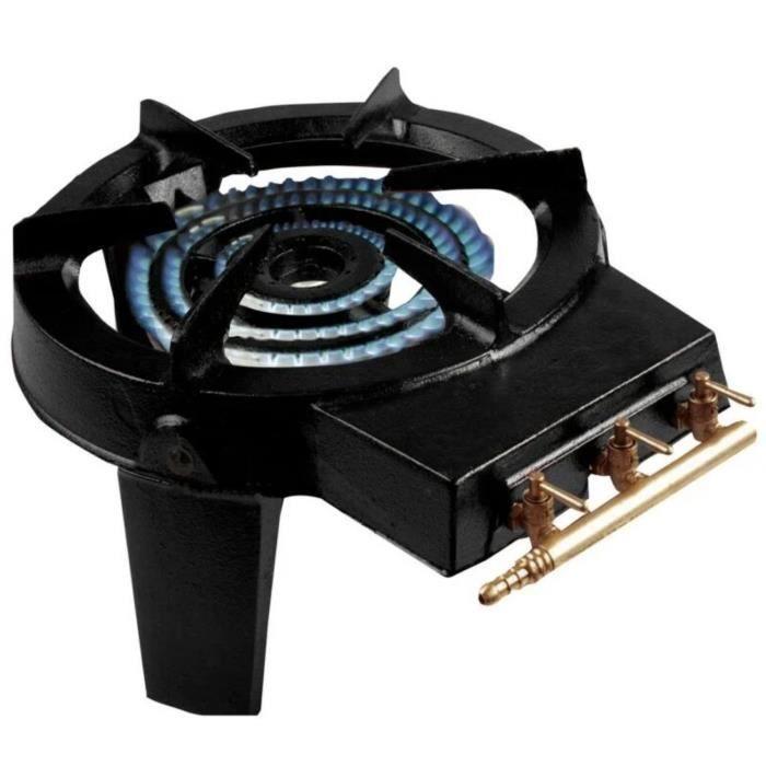 Réchaud gaz Tabona 3 pieds fonte - Achat / Vente plaque posable - Cdiscount