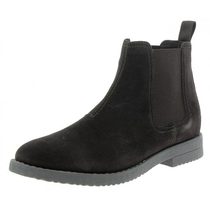Geox U Brandked F Homme Bottes Marron Foncé Marron - Livraison Gratuite avec - Chaussures Boot Homme