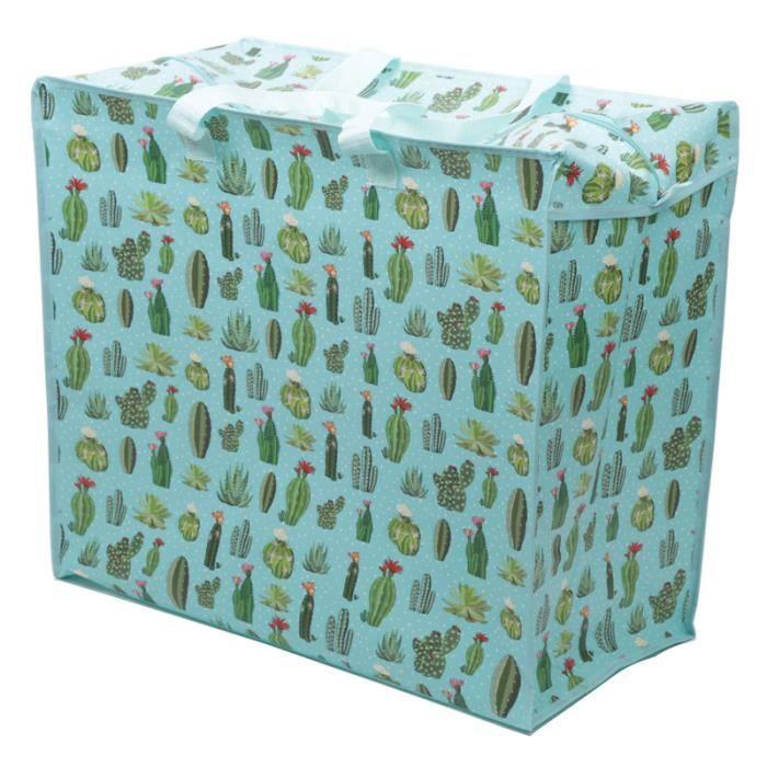 Cactus Ou Sac Shopping Rangement De wax5xIBFq