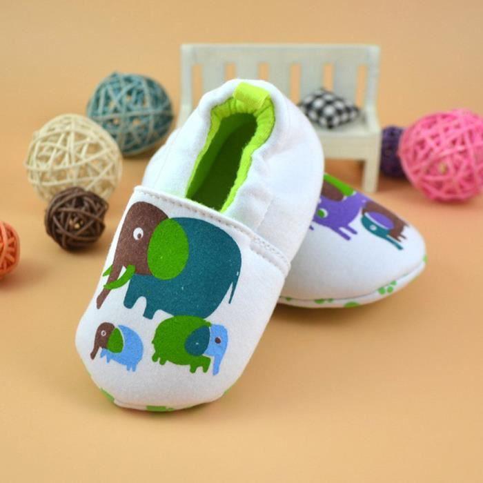 BOTTE Nouveau-né belle Toddler premier Walkers bébé chaussures appartements doux pantoufles chaussures@F, 1