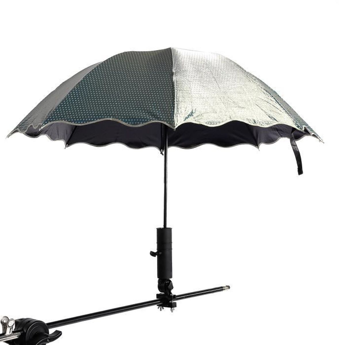 Golf Porte Parapluie Chariot Pluie Support Parapluie Fixation