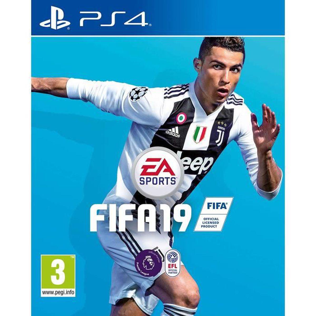 JEU PS4 FIFA 19 Jeu PS4 + 1 Porte Clé Offert