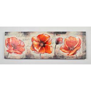 TABLEAU - TOILE Tableau déco Fleurs  32 -  Toile peinte à la main