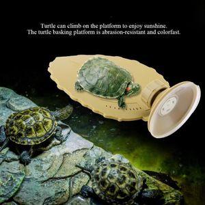 KIT HABITAT - COUCHAGE Tortue en plastique Plate-forme de deuil Aquarium