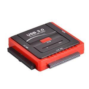 DISQUE DUR EXTERNE Wooshshop® Adaptateur USB 3.0 vers Dsique Dur IDE/