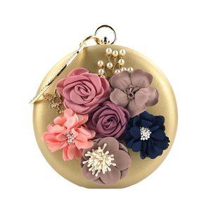 POCHETTE POCHETTE A MAIN Embrayages de fleurs pour femme Sa