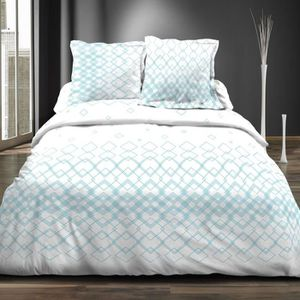 parure de lit 4 pieces 160x200 achat vente pas cher. Black Bedroom Furniture Sets. Home Design Ideas