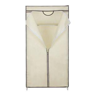 PENDERIE SOUPLE Armoires penderie tissu meuble de rangement beige