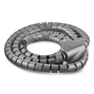 gaine rangement pour cables avec pince 3m 15mm achat vente c ble fil gaine gaine de. Black Bedroom Furniture Sets. Home Design Ideas