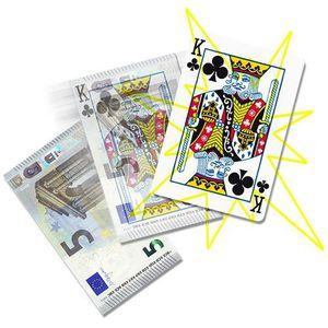 JEU MAGIE Le billet en carte - Money to Card