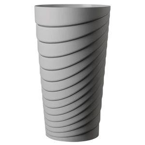 JARDINIÈRE - POT FLEUR  DEROMA Pot Alto Slinky - 35x35x60 cm - 42L - Ecume