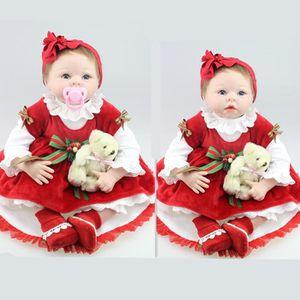 POUPON 55cm silicone reborn dolls à vendre réaliste vrai